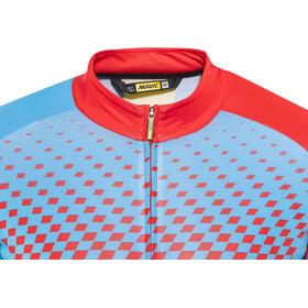 Mavic Crossmax Elite SS Jersey Men dresden blue/fiery red
